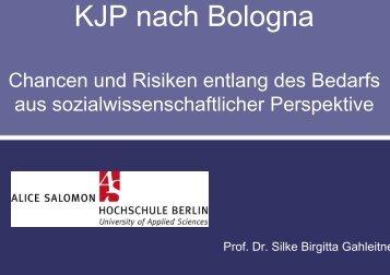 Vortrag von Prof. Dr. Silke Gahleitner (PDF, 91 kb) - Kammer für ...