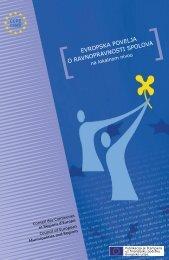 evropska povelja o ravnopravnosti spolova na ... - Grad Mostar