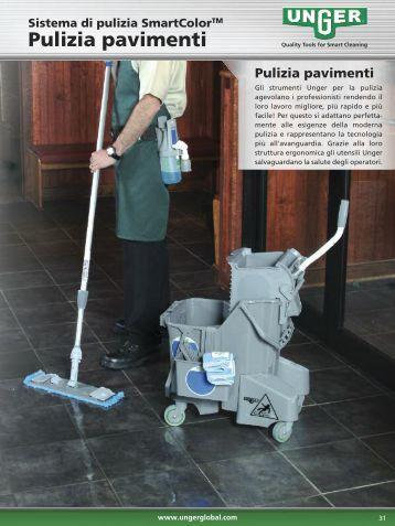 Pulizia pavimenti Imbottiture, manici, mop - Unger