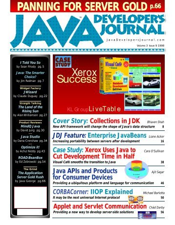 Java - sys-con.com's archive of magazines