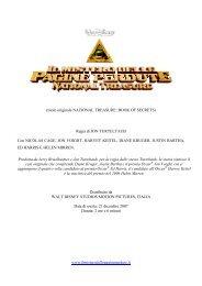 (titolo originale NATIONAL TREASURE: BOOK OF SECRETS ...