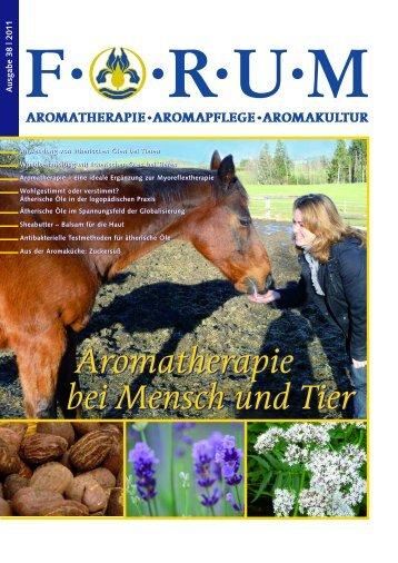 Aromatherapie bei Mensch und Tier Aromatherapie bei Mensch und ...