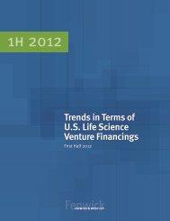 Life Science Financing Survey First Half 2012 - Fenwick & West LLP