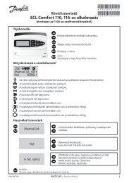 ECL Comfort 110, appl. 116, version 1.08, QG
