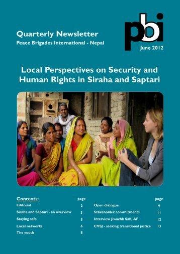 June 2012 - PBI Nepal