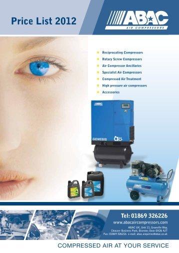 Price List 2012 - PROFI - dental equipment