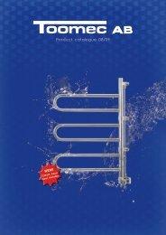 Product catalogue 08/09 - Toomec
