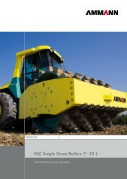ASC Single Drum Rollers 7 – 25 t