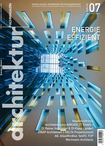 ENERGIE EFFIZIENT - Wortmann Architects