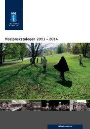 Mosjonskatalogen 2013/2014 (pdf) - Drammen kommune