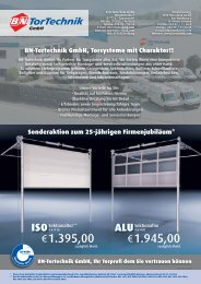 €1.395,00 €1.945,00 - B+N TorTechnik