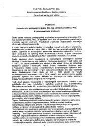 Prof. PhDr. Štefan GERO, csc. - Paneurópska vysoká škola