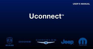 2011 - Chrysler Radio Book Uconnect Owner's Manual