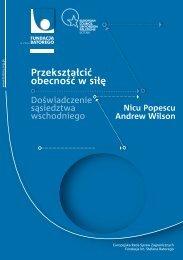 PDF 447 KB - Fundacja im. Stefana Batorego