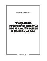 ii publice }n republica moldova - Ion Mereuta