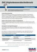 DAF-Originalwasserabscheidersatz - Seite 2