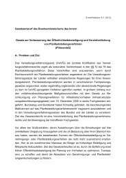 Gesetzesentwurf - Förderverein Mediation im öffentlichen Bereich