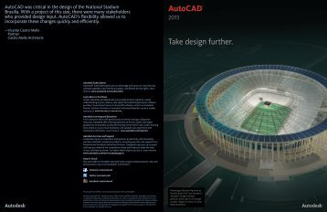 AutoCAD® Take design further. - Autodesk