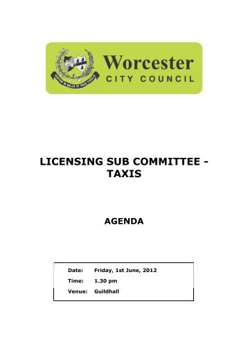 Worcester City Council Planning