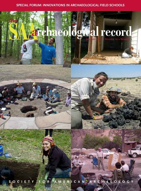 SAA Archaeological Record - Society for American Archaeology