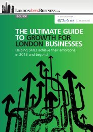 THE ULTIMATE GUIDE TO GROWTH FOR LONDON BUSINESSES