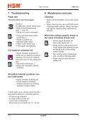 HSM 104.3cc Office Cross-Cut Shredder Manual - ACE Depot - Page 5