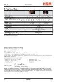 HSM 104.3cc Office Cross-Cut Shredder Manual - ACE Depot - Page 6