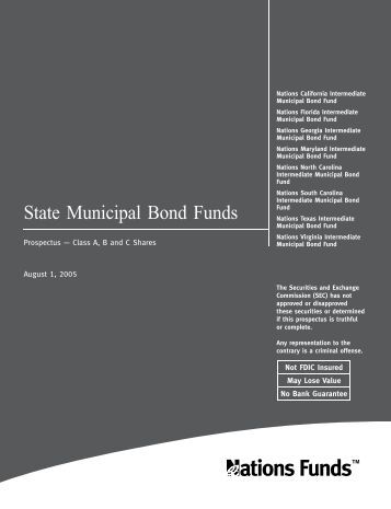 State Municipal Bond Funds - Bank of America