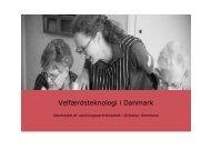 Velfærdsteknologi i Danmark - CareNet