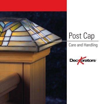 Post Cap - Deckorators