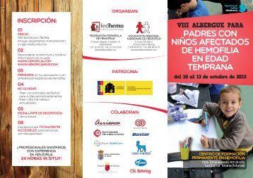 ALBERGUE PADRES 2013.pdf - Hemofilia