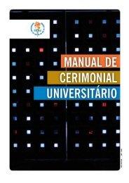 Veja o Manual de Cerimonial Universitário - Uerj