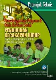 Petunjuk Teknis Penyelenggaraan Program & Dana Bantuan Sosial ...