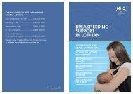 Breastfeeding Support - Community Pharmacy