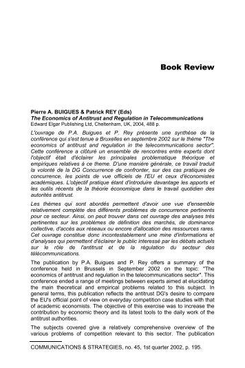 Book Review - Idate