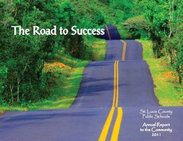 The Road to Success - St. Lucie County School Board