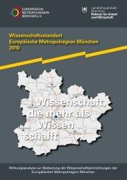 Kurzfassung der Studie - Europäische Metropolregion München