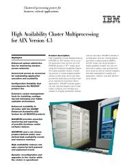 High Availability Cluster Multiprocessing for AIX Version 4.3