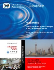 Aquatech Programme - IWA