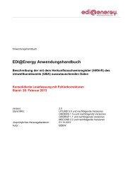 Herkunftsnachweisregister AHB 2.0 Konsolidierte ... - Edi-energy.de