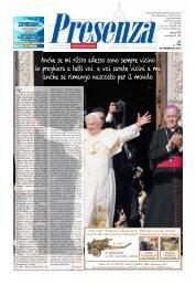 Presenza n. 4 del 24/2/2013 - Arcidiocesi di Ancona-Osimo