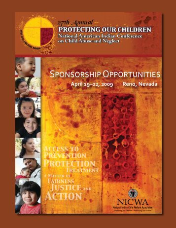 Sponsorship Opportunities - National Indian Child Welfare Association