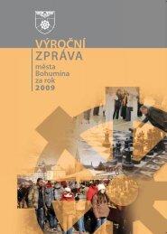 Výroční zpráva města Bohumína za rok 2009 (pdf - Město Bohumín