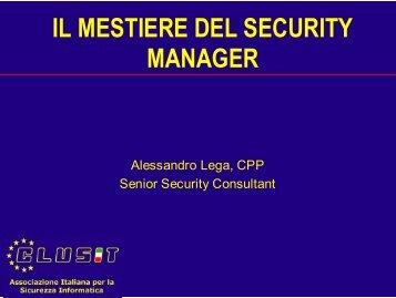 Alessandro Lega - Clusit