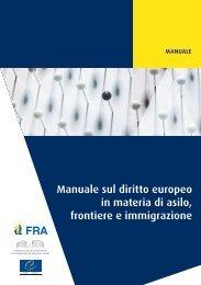 Manuale sul diritto europeo in materia di asilo, frontiere e ... - DIDAweb