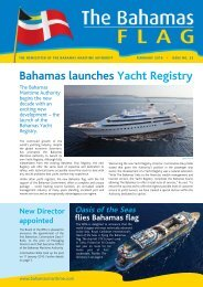 FLAG NEWSLETTER Issue 23 D6 - The Bahamas Maritime Authority