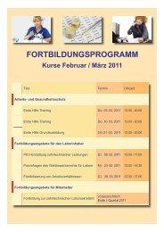fortbildungsprogramm - Zahntechniker-Innung Berlin-Brandenburg