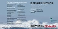 Innovation Networks - Danish Agency for Science, Technology and ...