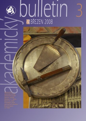 ab BŘEZEN 2008 - Akademický bulletin - Akademie věd ČR