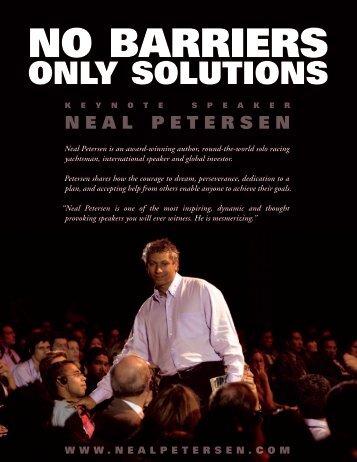 Download Neal Petersen One-Sheet